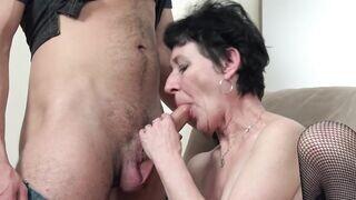 Nagymama pornó